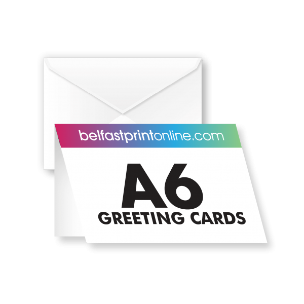 Greeting Cards - A5 creased to A6