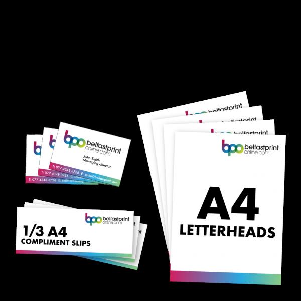 Belfast Print Online Stationery Pack Litho