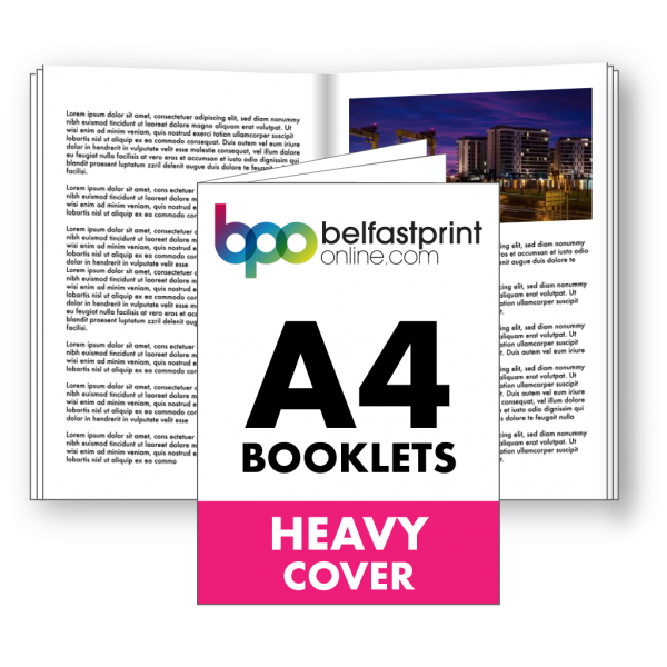 A4 Booklets Heavy Cover