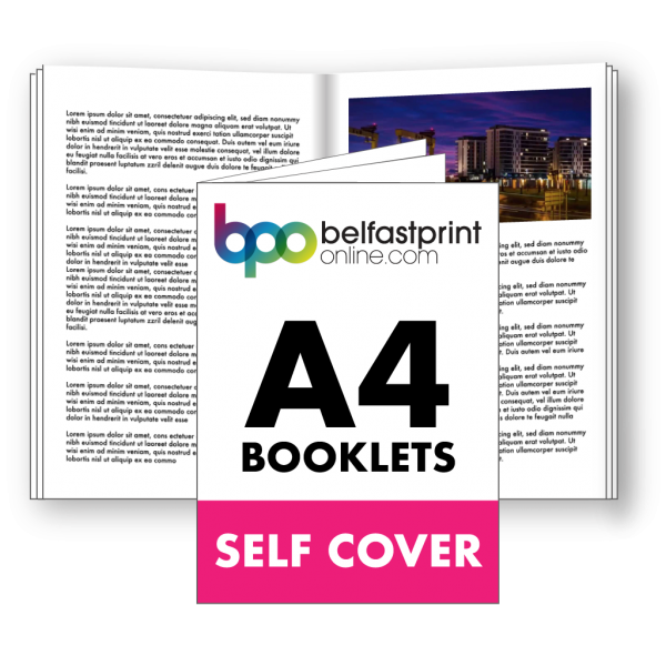A4 Booklets Self Cover
