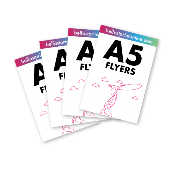 Belfast Print Online A5 Flyers Litho