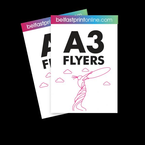 Belfast Print Online A3 Flyers Litho