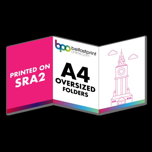 6pp A4 Folders (Not Oversized)