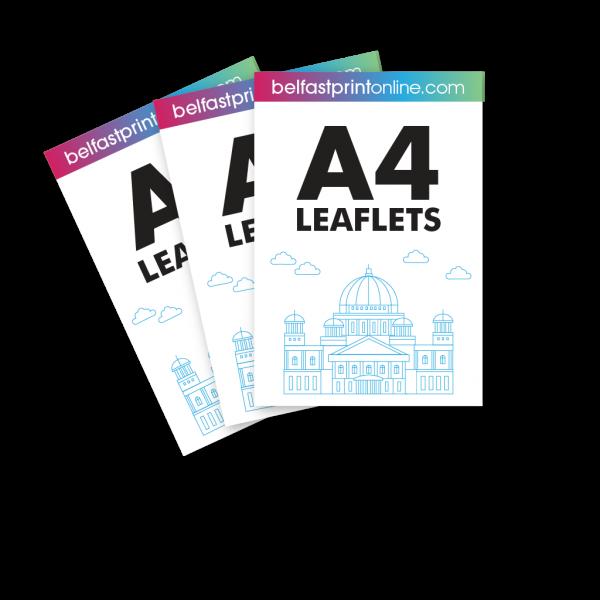 Belfast Print Online A4 Leaflets Litho