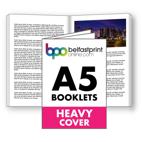 Belfast Print Online A5 Booklets Heavy Cover Litho