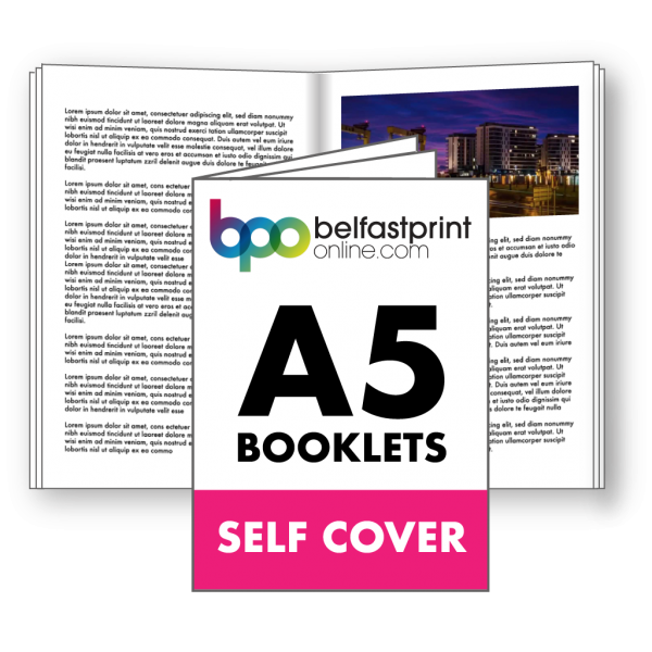 Belfast Print Online A5 Booklets Self Cover Litho
