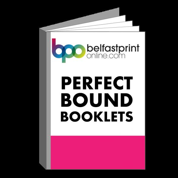 Belfast Print Online - Perfect Bound Booklets