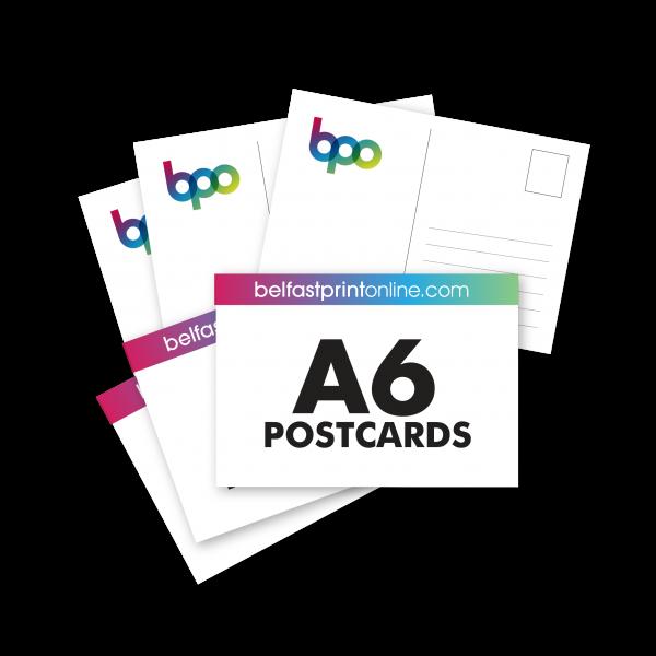 Belfast Print Online - A6 Postcards Litho