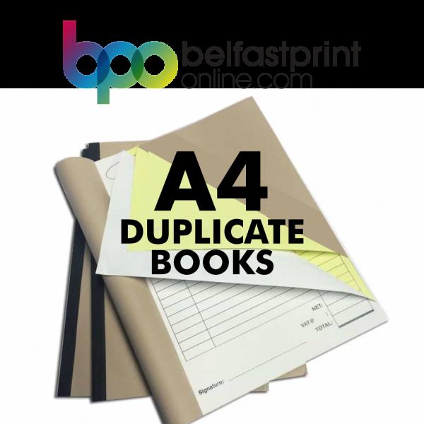 Belfast Print Online - A4 Duplicate Books