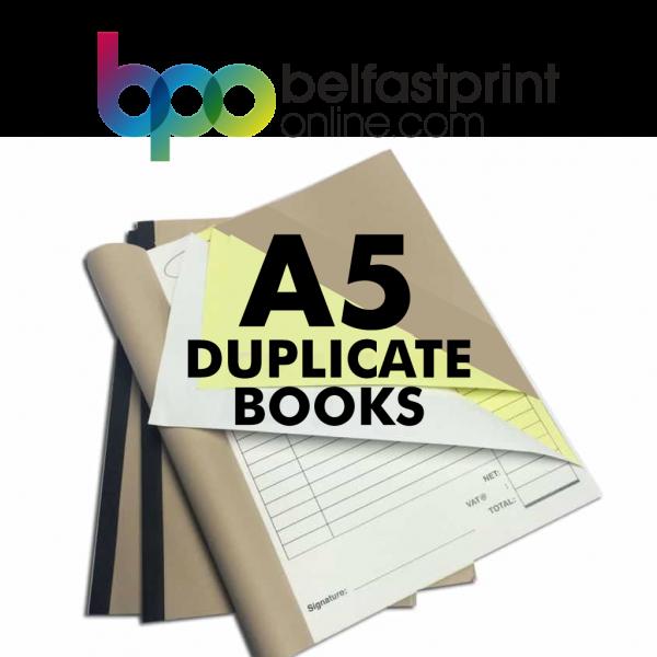 Belfast Print Online - A5 Duplicate Books