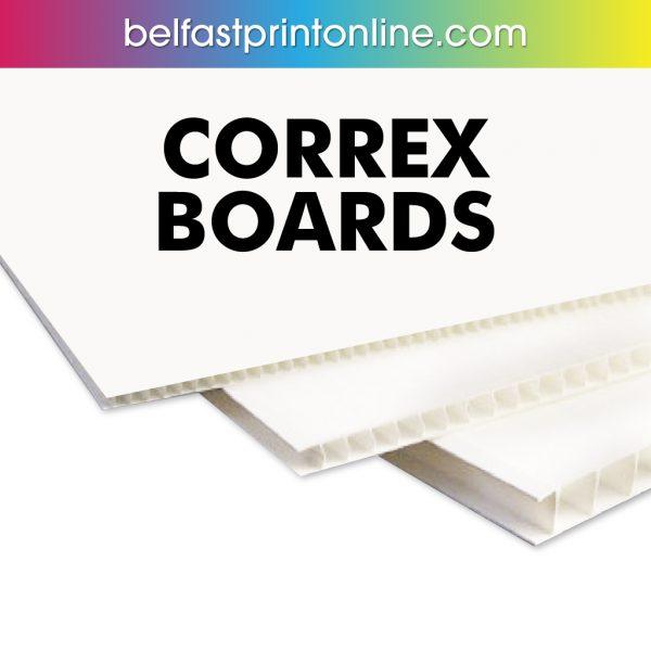 Belfast Print Online - Correx Printing Boards