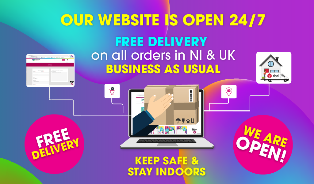 We Are Open - Business As Usual during COVID-19 - Belfast Print Online
