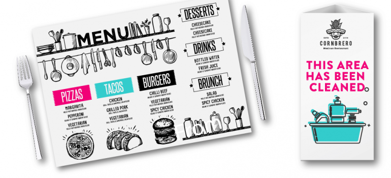 Hospitality Printing - Belfast Print Online
