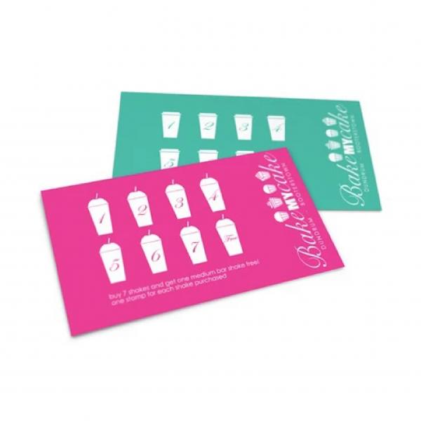 Loyalty Cards - Writable - Belfast Print Online