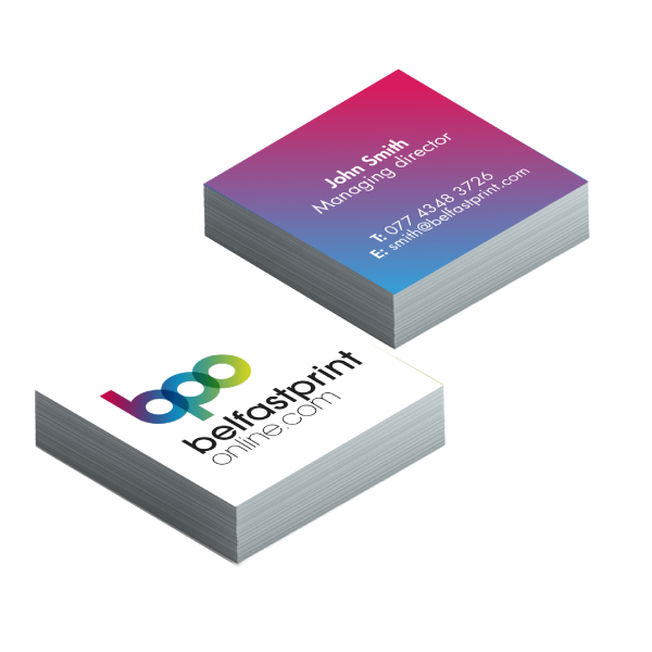 Square / Mini Business Cards - Belfast Print Online