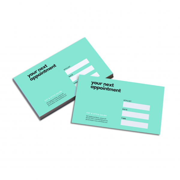 Appointment Cards - Writable - Belfast Print Online