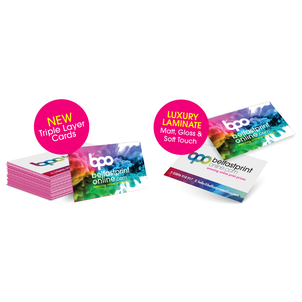 Cheap, Quality Business Cards Litho - Belfast Print Online