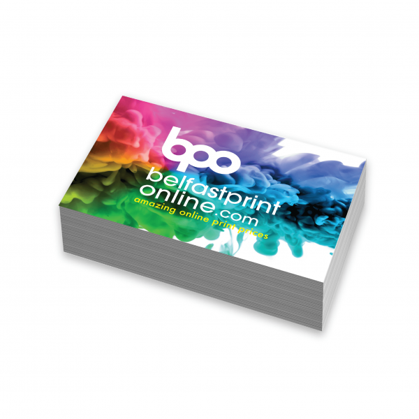 Luxury Gloss Laminated Business Cards - Belfast Print Online