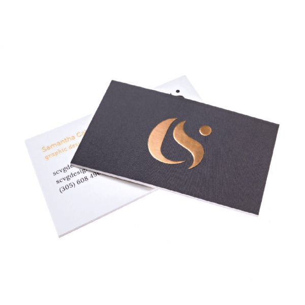 Foiled Business Cards - Hot Foil - Matt Laminated - Belfast Print Online