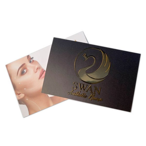 Foil Business Cards with Matt Lamination | Litho printed - Belfast Print Online