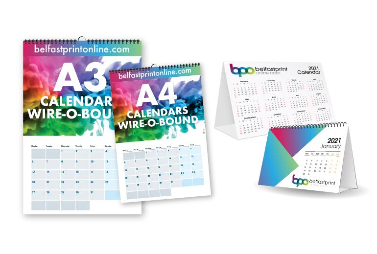 Calendars - Belfast Print Online